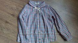 Блузка в клеточку для девочки NEXT