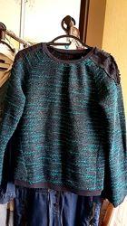 Красивый свитер шикарное сочетание цветов