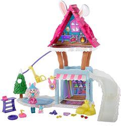 Енчантімалс будинок зимового кролика Enchantimals Bevy Bunny winter новинка