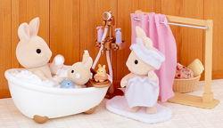 Sylvanian Families Bath and Shower Сільваніан фемеліс набір ванна кімната