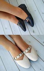 Удобные женские балетки, туфли