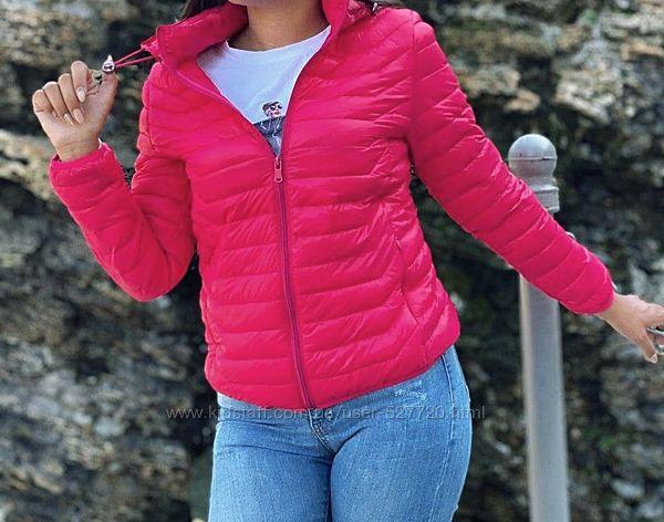 Красивая ультралегкая женская демисезонная куртка , для девочек подростков