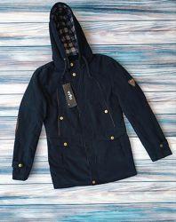 Мужская демисезонная куртка парка, см. замеры в описании товара