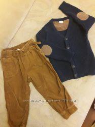 Фирменные вещи штаны и кофта комплектом