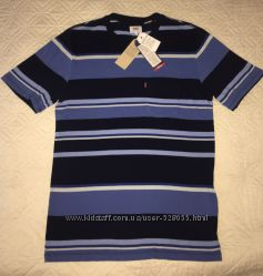мужская футболка Levi&acutes в полоску S оригинал новая
