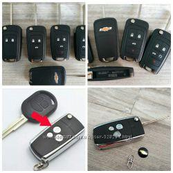 Ключ выкидной Chevrolet Orlando Cruze Spark Camaro Malibu Aveo Lacetti