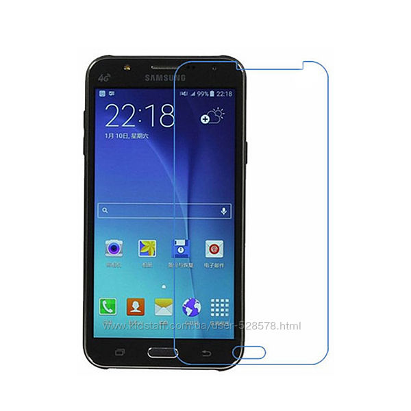 Защитное стекло 2, 5D Samsung Galaxy J3 J5 J7 2015 2016 2017 Prime Neo