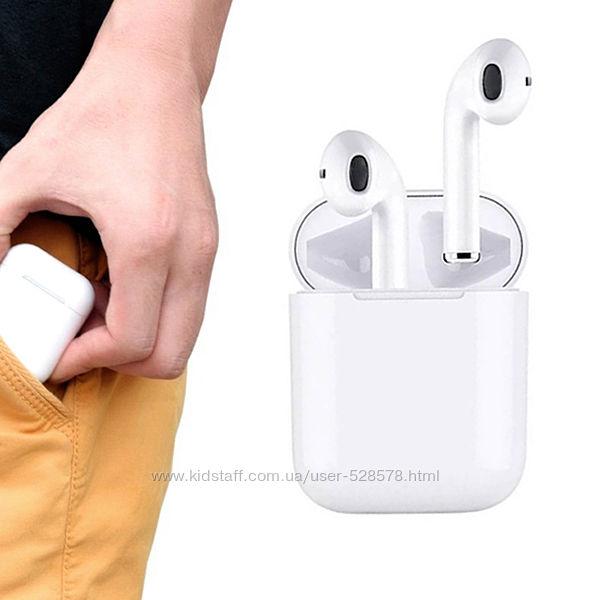 Bluetooth наушники-гарнитура беспроводные TWS i11 сенсорные кнопки