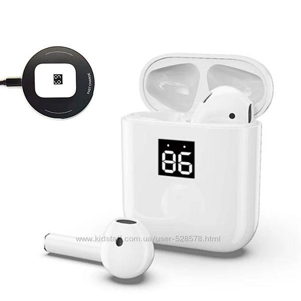 Bluetooth наушники-гарнитура беспроводные TWS G60 с беспроводной зарядкой