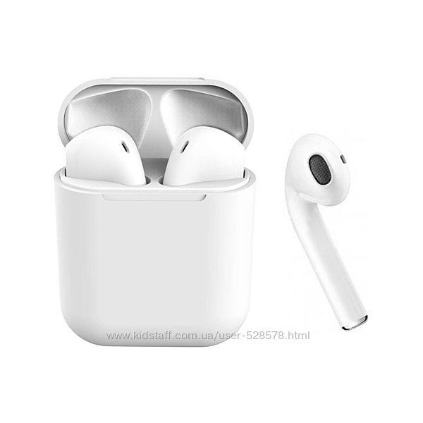 Bluetooth наушники-гарнитура беспроводные inPods TWS i12 сенсорные кнопки