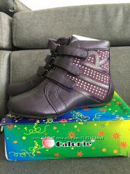 Стильные демисезонные ботинки  Calorie 34 размер