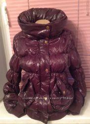 Куртка к холодам бордо