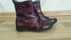 Ботинки деми МOD8-28р. , натуральная  лаковая кожа