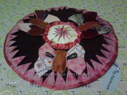 Декоративные интерактивные детские коврики в стиле patchwork