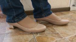 Лаковые туфли фирмы M&S 6, 5р. наш 39-40 размер