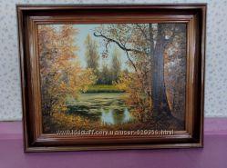 Картина маслом Осень