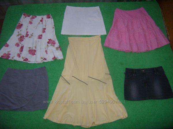 Пакет летние юбки размер S-М