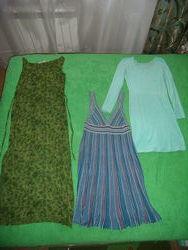 Пакет платья, сарафаны, комбинезон в идеале  р. С-М