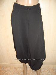 Капри кюлоты гламурные черные для модниц.
