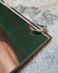 Серебряное кольцо, минималистичное кольцо, стильное кольцо, украшение