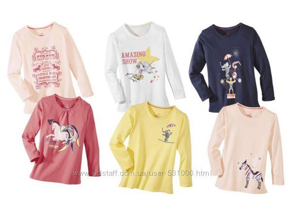 Комплекты регланов для девочек Lupilu цена за комплект
