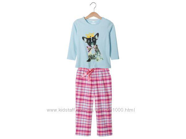 Пижамки для девочек Lupilu Lidl