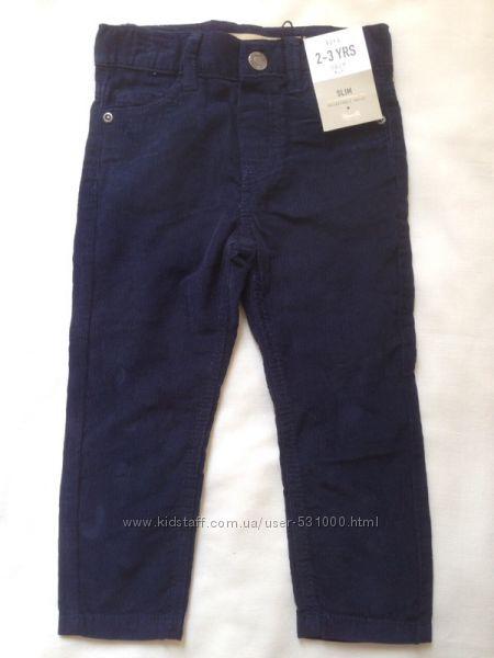 Вельветовые штанишки для мальчика Primark Англия
