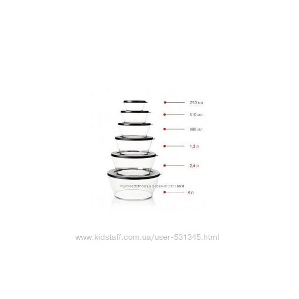 Чаша Кристалл   4 л Tupperware