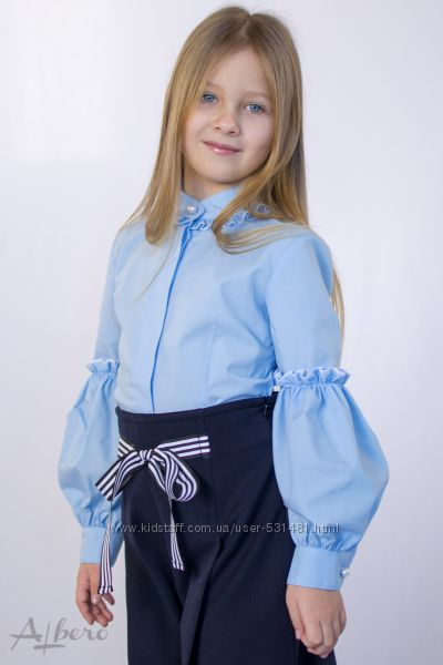 Блузки школьные от производителя