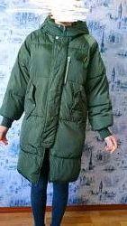 Зимняя куртка пуховик раз. L