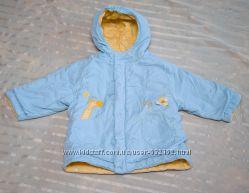 Демисезонная двухсторонняя куртка на 1. 5-2 года.