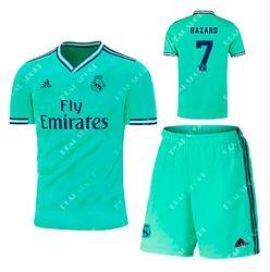 Футбольная форма детская Реал Мадрид 2019-2020, Эден Азар. Резервная форма