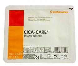 Силиконовый пластырь CICA-CARE для лечения шрамов, рубцов, келоидных рубцов