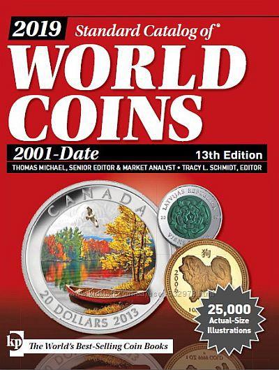 2019 - Krause - Каталог монет мира с 2001 г. - на CD