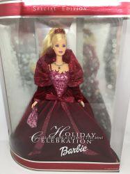 Лялька Барбі Святкова 2002 р Barbie Holiday 2002