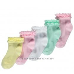 Носочки с кружевом