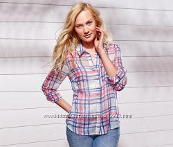 Легкая блуза рубашка р. М-ка, L-ка  TCM Tchibo