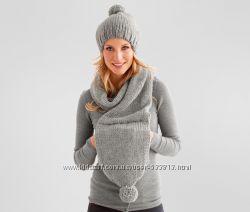 Женский шарф шапка муфта 3 в 1   TCM Tchibo