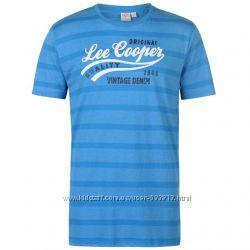 Отличная мужская футболка Lee Cooper р. М, L, XL, ХXL-ка