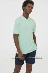 Отличная мужская хлопковая футболка поло р. М-ка, L-ка ХL-ка, ХХL-ка H&M