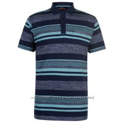 Отличная мужская хлопковая футболка поло р. М, L, ХL, ХХL-ка Pierre Cardin