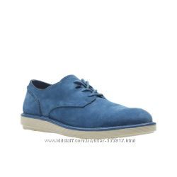 Отличные замшевые мужские туфли CLARKS Fayeman Lace р. 43, 44, 45, 46
