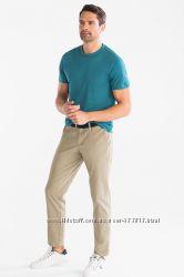 Отличные мужские хлопковые штаны Чиносы Slim fit C&A р. 56 кунда