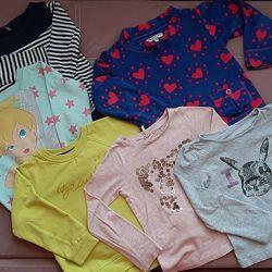 Набор регланов и свитшотов для девочки.