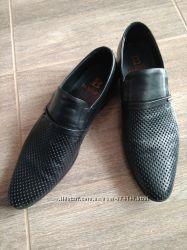 Туфли черные кожаные Basconi,  Италия