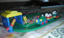 Железная дорога Jackpot  для малышей от 2 лет