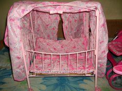 Кроватка Melogo 9350 с балдахином и крышей