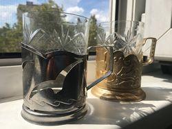Подстаканники и стаканы
