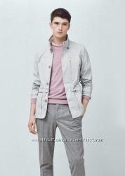 Куртка мужская с капюшоном Mango