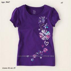Яркие футболки CHILDRENS PLACE  4 года
